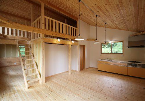 二人暮らしや小家族にちょうどいい新築完成オープンハウス開中